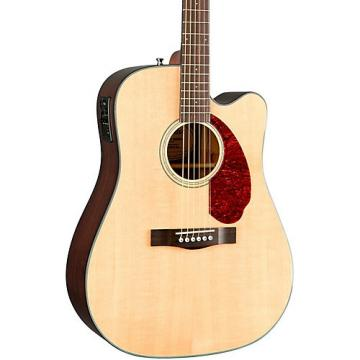 Fender Classic Design Series CD-140SCE Cutaway Dreadnought Acoustic-Electric Guitar Natural
