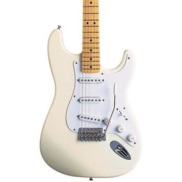Fender Artist Series Jimmie Vaughan Tex-Mex Stratocaster Electric Guitar Olympic White