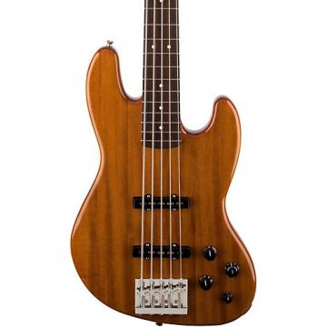 Fender Deluxe Active Jazz Bass V Okume Rosewood Fingerboard Electric Bass Guitar Natural