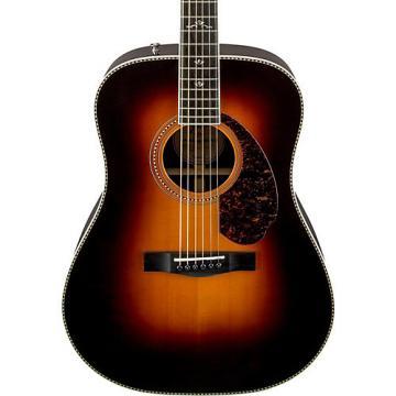Fender Paramount Series PM-1 Deluxe Dreadnought Acoustic-Electric Guitar Vintage Sunburst