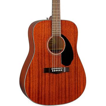 Fender Classic Design Series CD-60S All-Mahogany Dreadnought Acoustic Guitar Natural