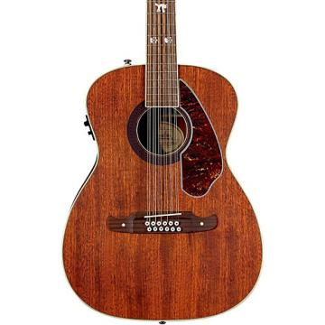 Fender Artist Design Series Tim Armstrong Hellcat Concert 12-String Acoustic-Electric Guitar Natural