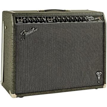 Fender GB George Benson Twin Reverb 2x12 Guitar Combo Amp Gray