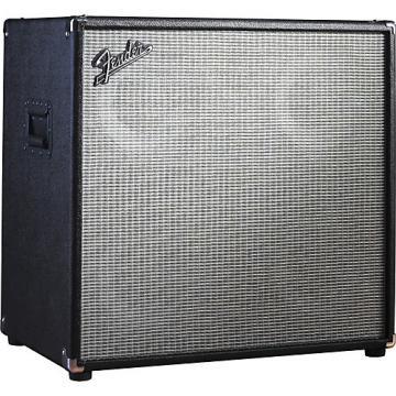 Fender Bassman Pro 410 4x10 Neo Bass Speaker Cabinet Black