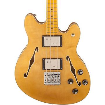 Fender Starcaster Electric Bass Natural Maple Fingerboard