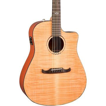 Fender California Series T-Bucket 400CE Cutaway Dreadnought Acoustic-Electric Guitar Natural