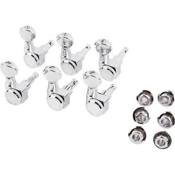 Fender Locking Tuners with Vintage Buttons Chrome