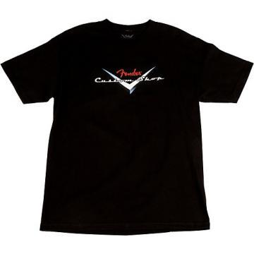 Fender Custom Shop Original Logo T-Shirt Black XX-Large