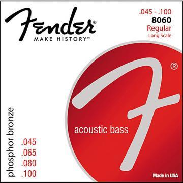 Fender 8060 PHOSPHOR BRONZE ACOUSTIC BASS STRINGS