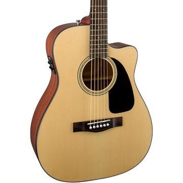 Fender CF-60CE Folk Acoustic-Electric Guitar Black
