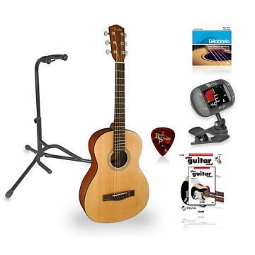 Fender MA-1 3/4 Size Steel String Guitar Bundle Natural