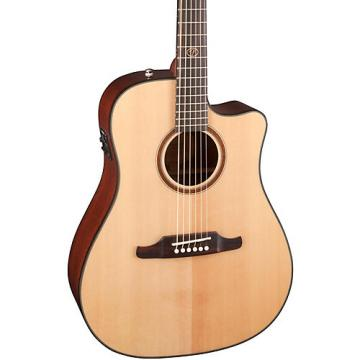 Fender F-1000CE Cutaway Dreadnought Acoustic-Electric Guitar Natural