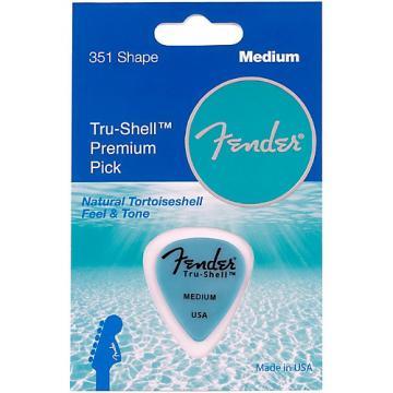 Fender Tru-Shell 351 Guitar Pick Medium 1