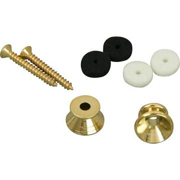 Fender Gold Guitar Strap Buttons set of 2