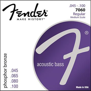 Fender 7060 Phospor Bronze Acoustic Bass Strings
