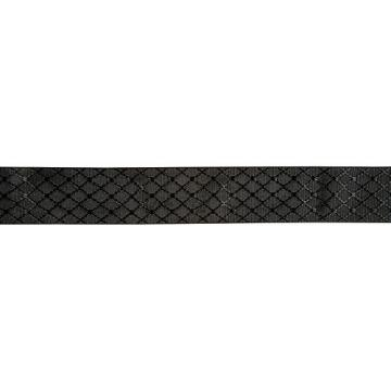 Fender Nylon Jacquard Guitar Strap Satin Black Diamond 2 in.
