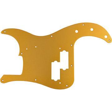 Fender '57 Precision Bass 10 Hole Pickguard Gold Anodized