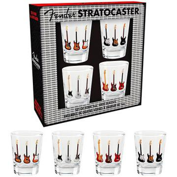 Fender Branded Shotglasses (Set of 4)