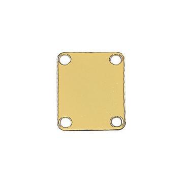 Fender 4 Screw Neck Plate Gold