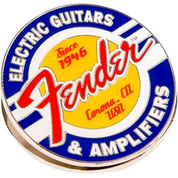 Fender Magnet Clip Guitars and Amps Logo