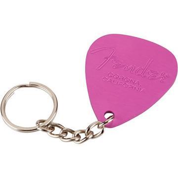 Fender Pick Keychain Pink