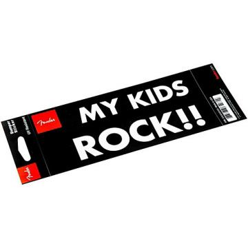 "Fender ""My Kid Rocks"" Bumper Sticker"