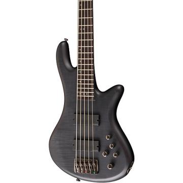 Schecter Guitar Research Stiletto Studio-5 Bass Satin See-Thru Black