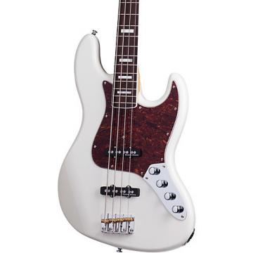 Schecter Guitar Research Diamond-J Plus Electric Bass Guitar Ivory
