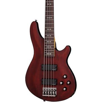 Schecter Guitar Research OMEN-5 Electric Bass Guitar Satin Walnut