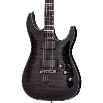 Schecter Guitar Research Hellraiser Hybrid C-1 Electric Guitar Transparent Black Burst