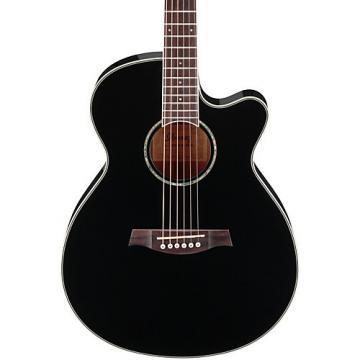 Ibanez AEG10II Cutaway Acoustic-Electric Guitar Black