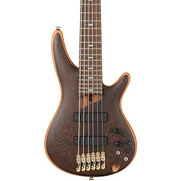 Ibanez Prestige SR5006 6-String Electric Bass Guitar Natural