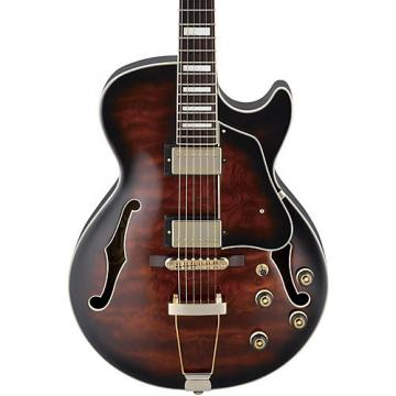 Ibanez Artcore Expressionist AG95 Hollowbody Electric Guitar Dark Brown Sunburst