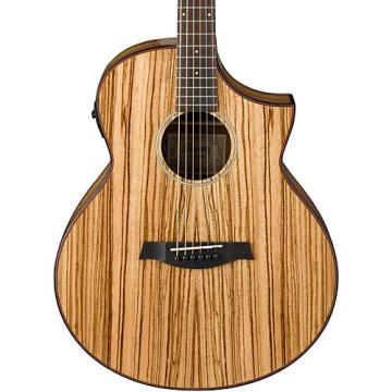 Ibanez Exotic Wood AEW40ZW-NT Acoustic-Electric Guitar Natural