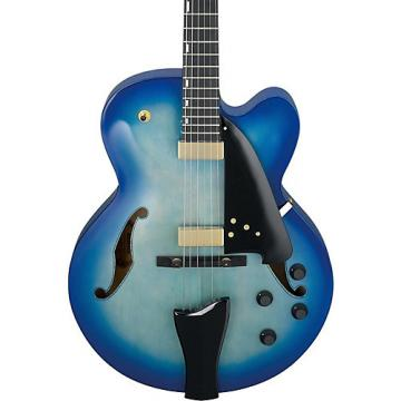 Ibanez AFC Contemporary Archtop Electric Guitar Jet Blue Burst