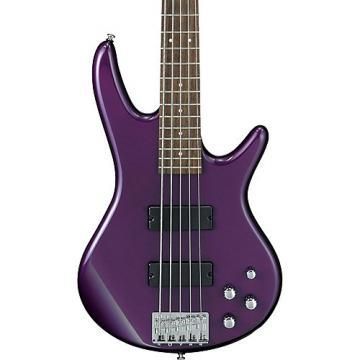 Ibanez GSR205 5-String Electric Bass Guitar Deep Violet Metallic