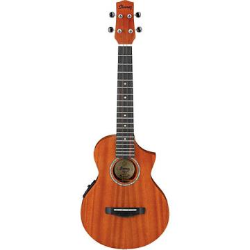 Ibanez UEWT5E Tenor Acoustic-Electric Ukulele Natural