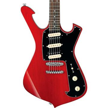 Ibanez FRM Series FRM150 Paul Gilbert Signature Electric Guitar Transparent Red