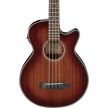 Ibanez AEGB14E Acoustic-Electric Bass Guitar Mahogany Sunburst