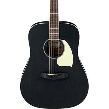 Ibanez PF14WK Mahogany Dreadnought Acoustic Guitar Black