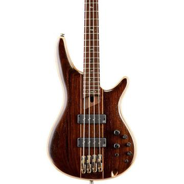 Ibanez Premium SR1900E 4-String Electric Bass Guitar Natural