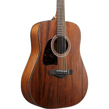 Ibanez AW54LOPN Left-Handed Mahogany Dreadnought Acoustic Guitar Natural