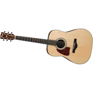 Ibanez AW400LNT Artwood Solid Top Dreadnought Left-Handed Acoustic Guitar Natural