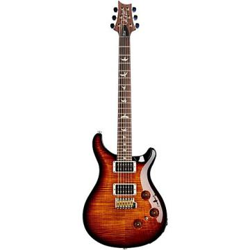 PRS P24 Tremolo 10 Top Electric Guitar Black Gold Burst