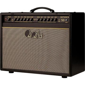 PRS Sonzera 50 50W 1x12 Tube Guitar Combo Amplifier Black