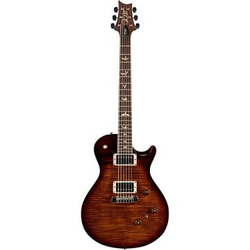 """PRS """"P245 Carved Figured Maple 10 Top with Nickel Hardware Solidbody Electric Guitar Black Gold Wrap Burst"""