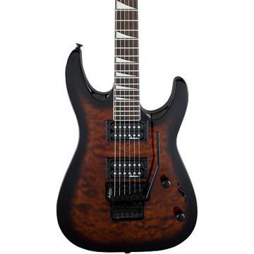 Jackson JS32Q Dinky DKA, QM Electric Guitar Dark Sunburst