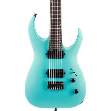 Jackson USA Signature Model Misha Mansoor Juggernaut HT7 Electric Guitar Matte Blue Frost