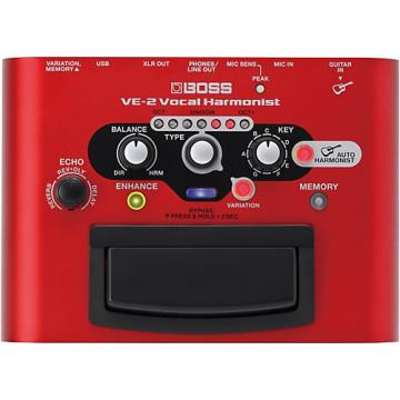 Boss VE-2 Vocal Harmonist Multi-Effects Pedal