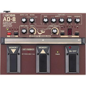 Boss AD-8 Acoustic Guitar Multi-Effects Pedal
